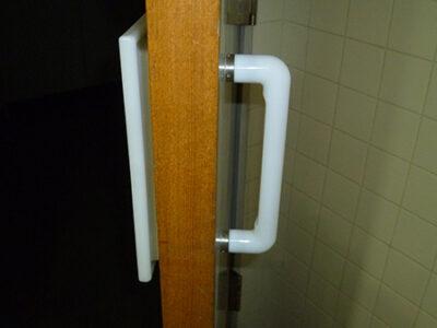 大和市 トイレのドア・取手交換