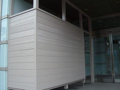 大和市 木製喫煙スペース新設工事